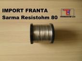 Sarma rezistiva Resistohm40 sau Nikrothal40