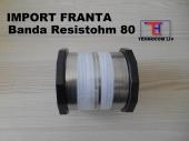 Bandă nichelină Resistohm80 Nikrothal80